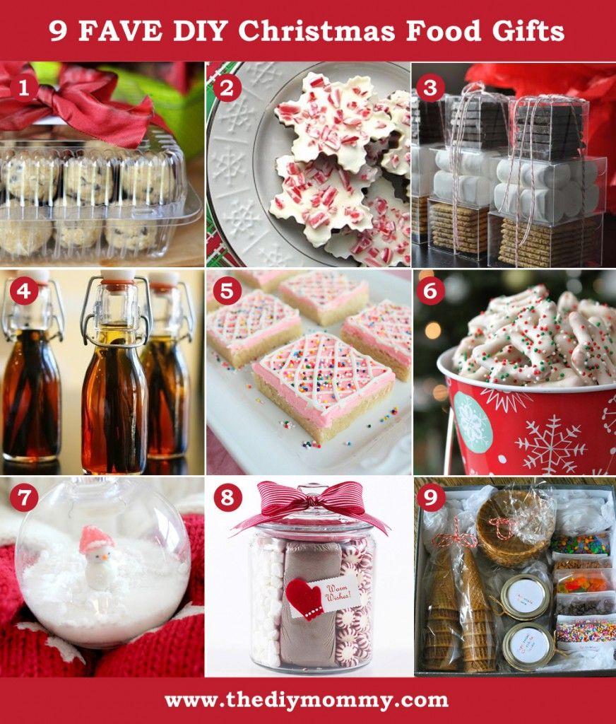 A Handmade Christmas Diy Food Gifts The Diy Mommy Christmas Food Gifts Food Gifts Diy Food Gifts