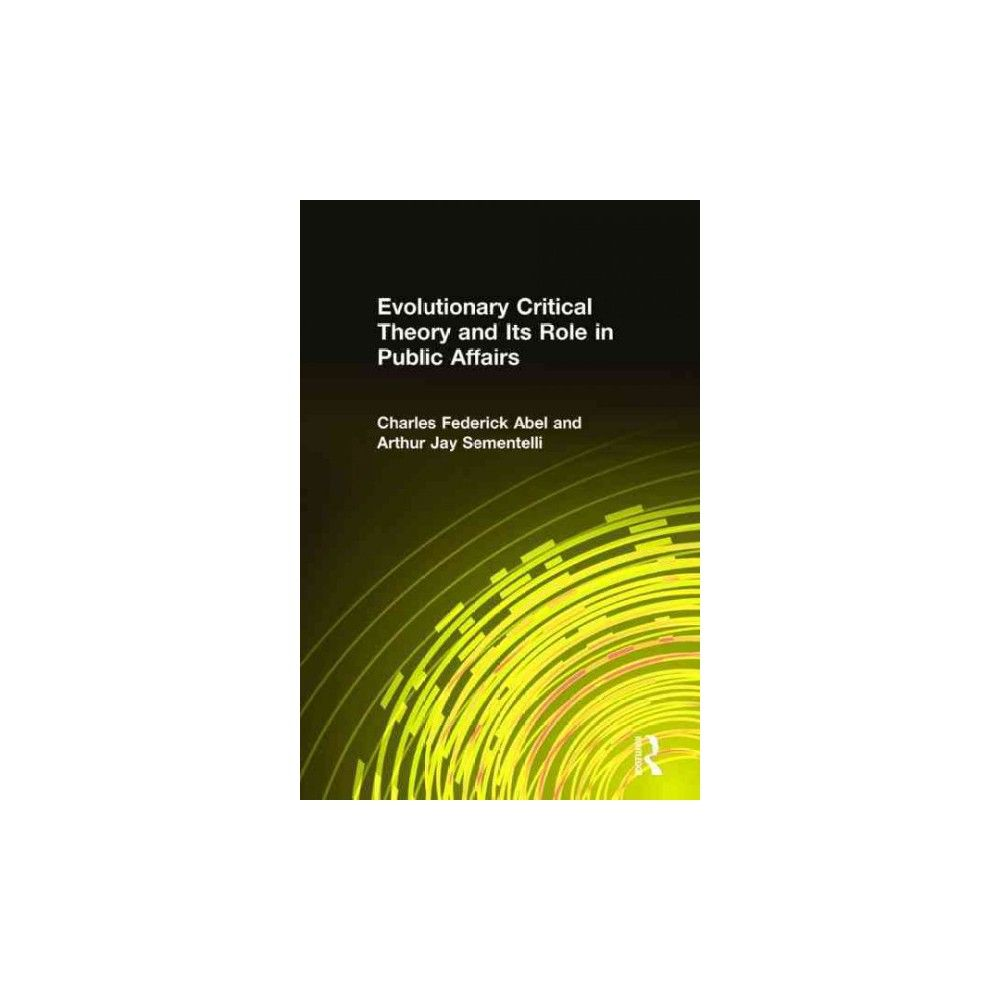 Evolutionary Critical Theory and Its Rol (Hardcover)