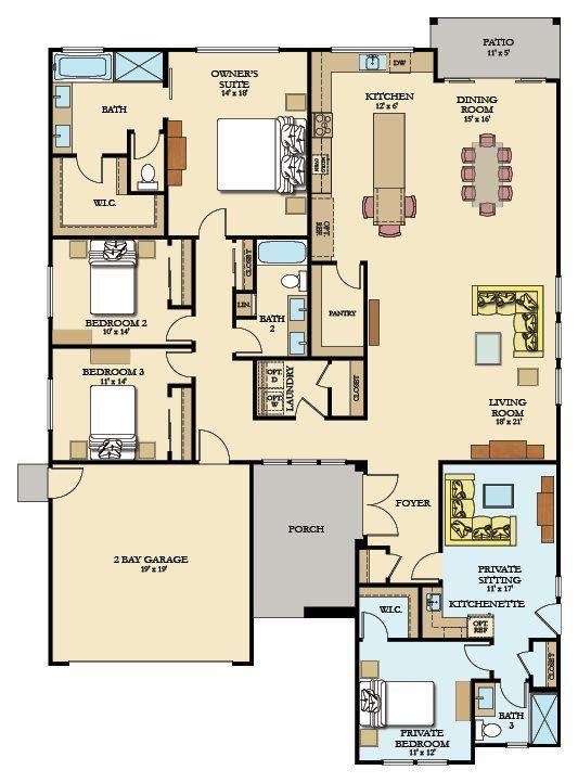 Solstice Next Gen New Home Plan in Ironsides