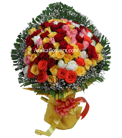 35 mix roses bouquet flowers delivery india pinterest rose 35 mix roses bouquet mightylinksfo Choice Image