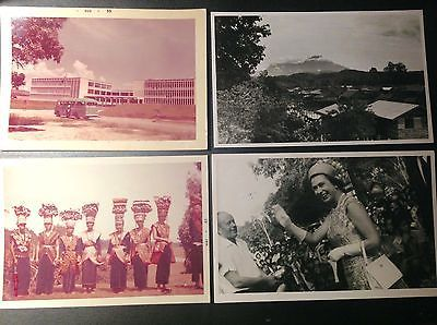 Original Old photo of (Jesselton)Kota Kinabalu (1960s approx.)group of 4, lot #8
