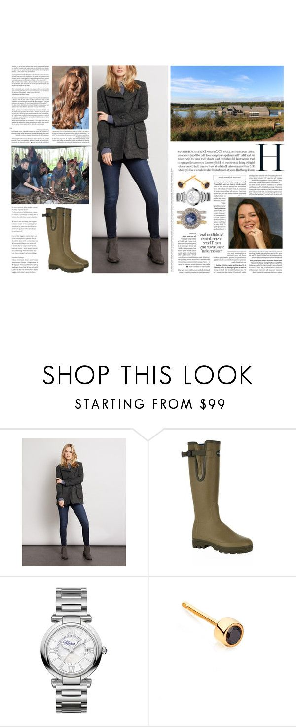 """""""Untitled #3036"""" by duchessq ❤ liked on Polyvore featuring Whiteley, Le Chameau and Chopard"""