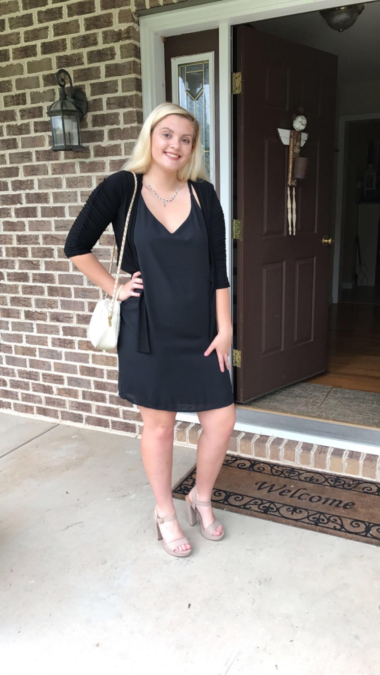 Black Fashion Outfits Love Art Style Clothes Dress Black White Heels Girlfashion Blonde Outside Outfits Seniory Fashion Outfits Girl Fashion [ 2208 x 1242 Pixel ]
