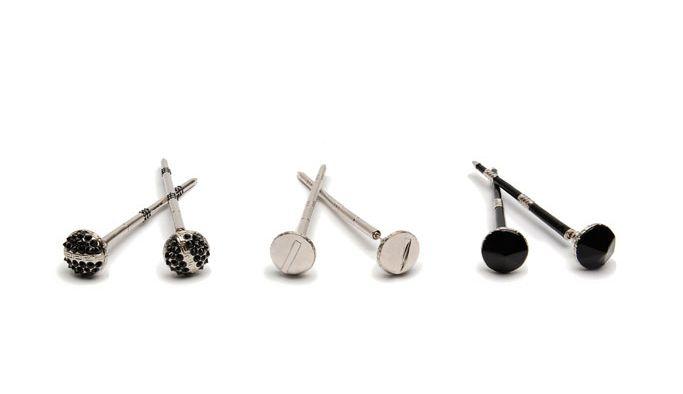 Versace Nail Earrings | Style.com/Arabia