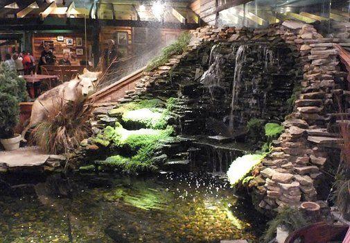 Restaurant S Indoor Waterfall Pond Indoor Waterfall Indoor