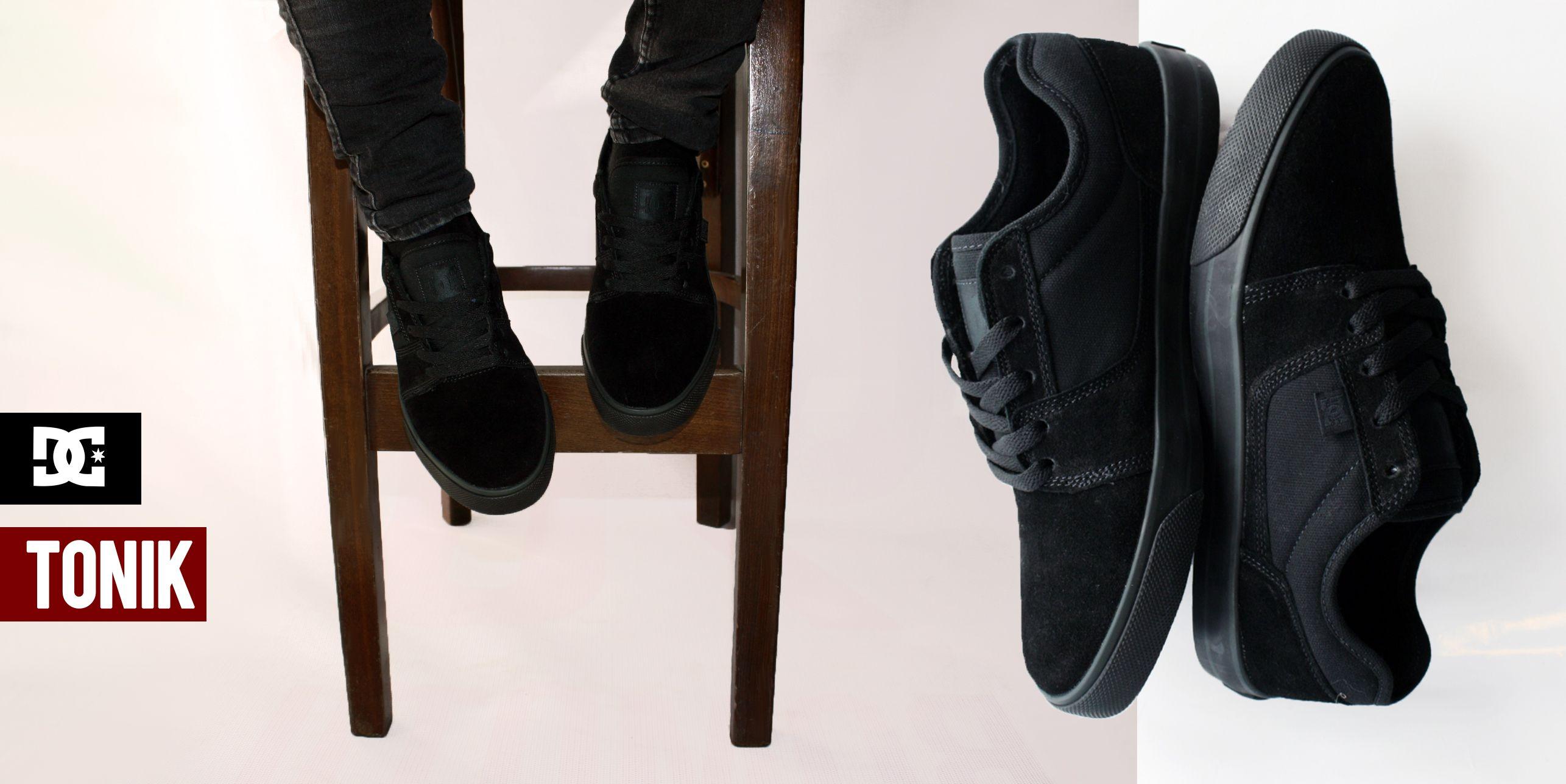 DC Tonik Black/Black | Dc skate shoes