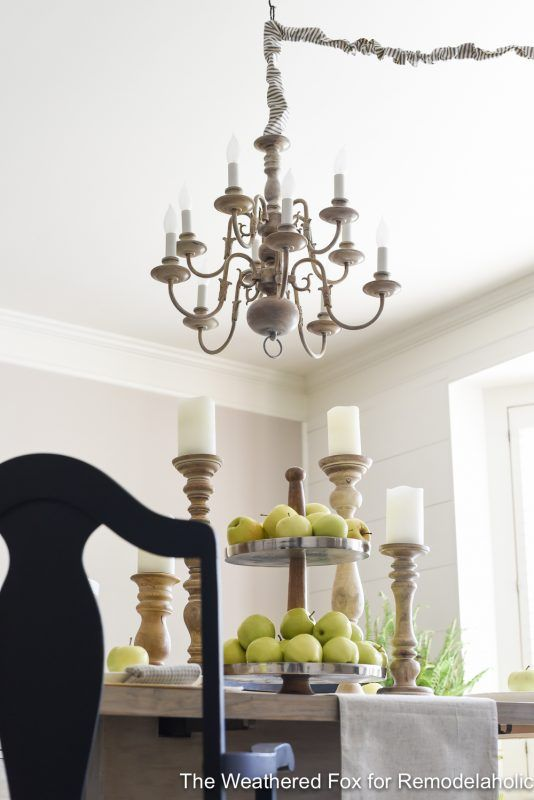 DIY Plug-in Chandelier from Thrifted Hardwired Light ...