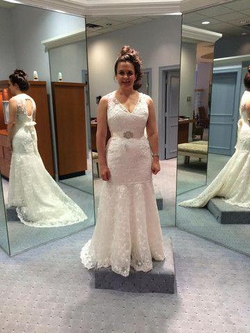 98901b040e61 Alfred Angelo '8570' size 6 used wedding dress - Nearly Newlywed ...