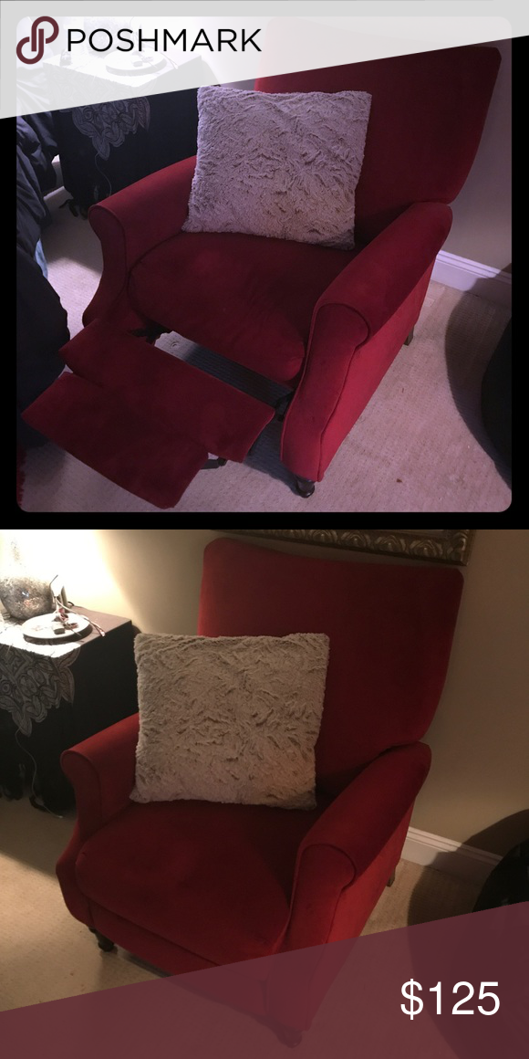 Red Reclining Chair Don T Have Enough Space Anymore Other Recliner Chair Chair Recliner