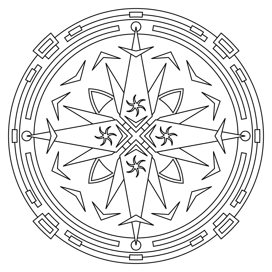mandalas a colorier coloring pinterest tatoo and symbols