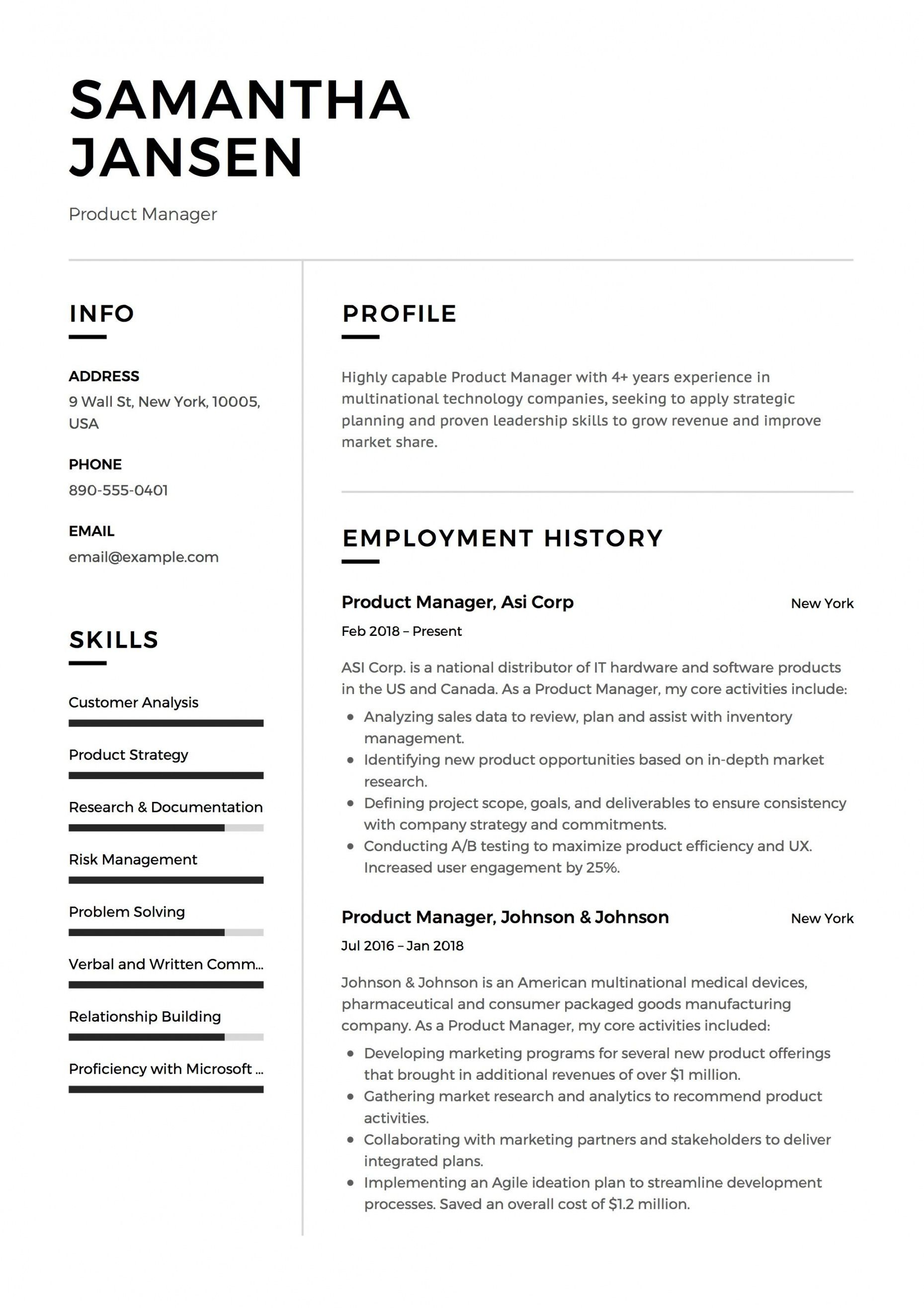 Get Our Sample Of Curriculum Analysis Template For Free Resume Template Examples Student Resume Template Job Resume Examples