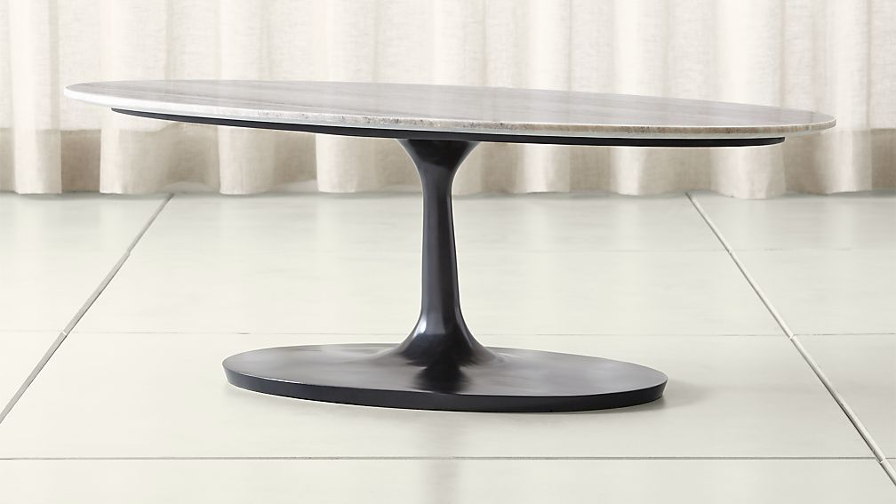 Nero grey marble oval coffee table oval coffee tables
