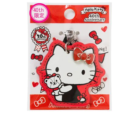 40th anniversary of Hello Kitty! Character Leather ★ | Goods | Hello Kitty 40th Anniversary Special Site