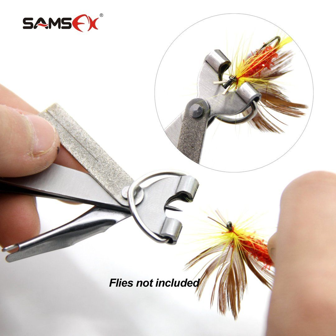 Fishing Quick Knot Tool The Samsfx Fishing Quick Knot Tool Is Easy To Use Nail Knot Tool That Comes With A Zinger Retractor Ea Fishing Tips Fishing Knots Fish