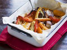 Frisch aus dem Ofen: Kürbis Ofengemüse | Zeit: 25 Min. |