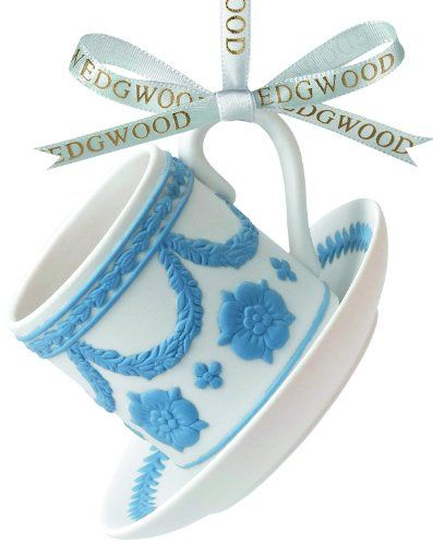 Wedgwood Iconic Teacup & Saucer Ornament