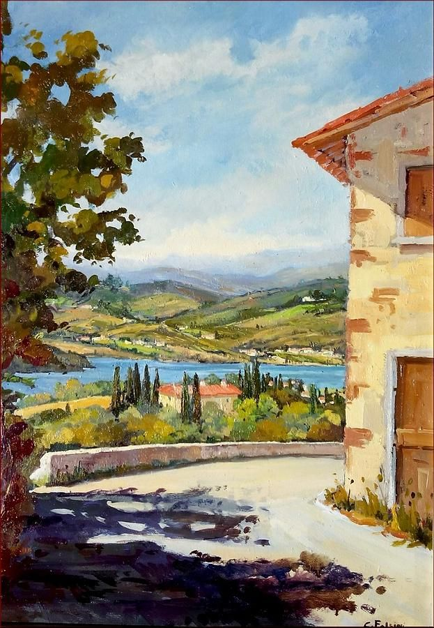 Lake Of Barberino - Italy ~ by Cristina Falcini