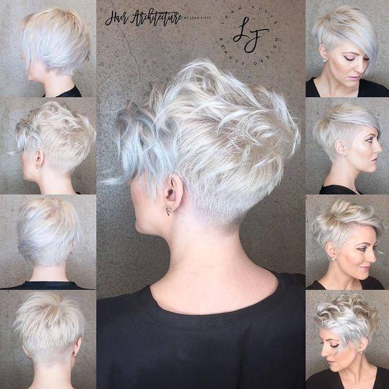10 Messy Hairstyles for Short Hair 2021 - Short Ha