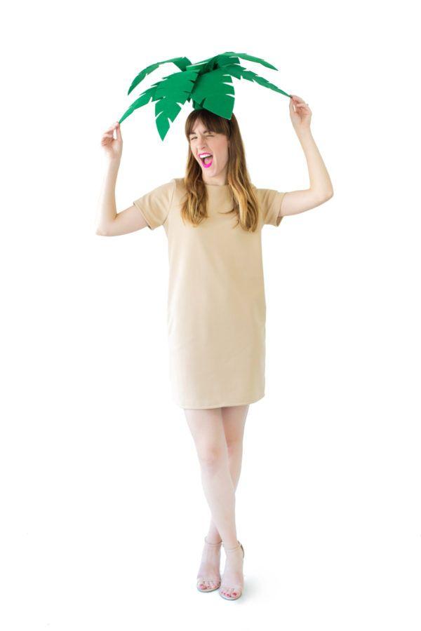 Diy Palm Tree Costume Recipe Halloweenie