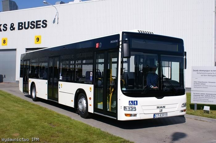 MAN Lionscity, bus alemán.
