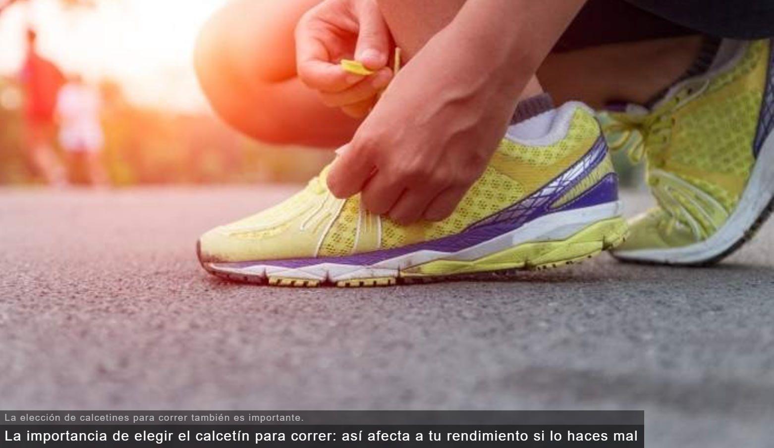 La importancia de elegir el calcetín para correr: así afecta a tu rendimiento si lo haces mal   Ver:  http://ow.ly/vIml30ehdEI