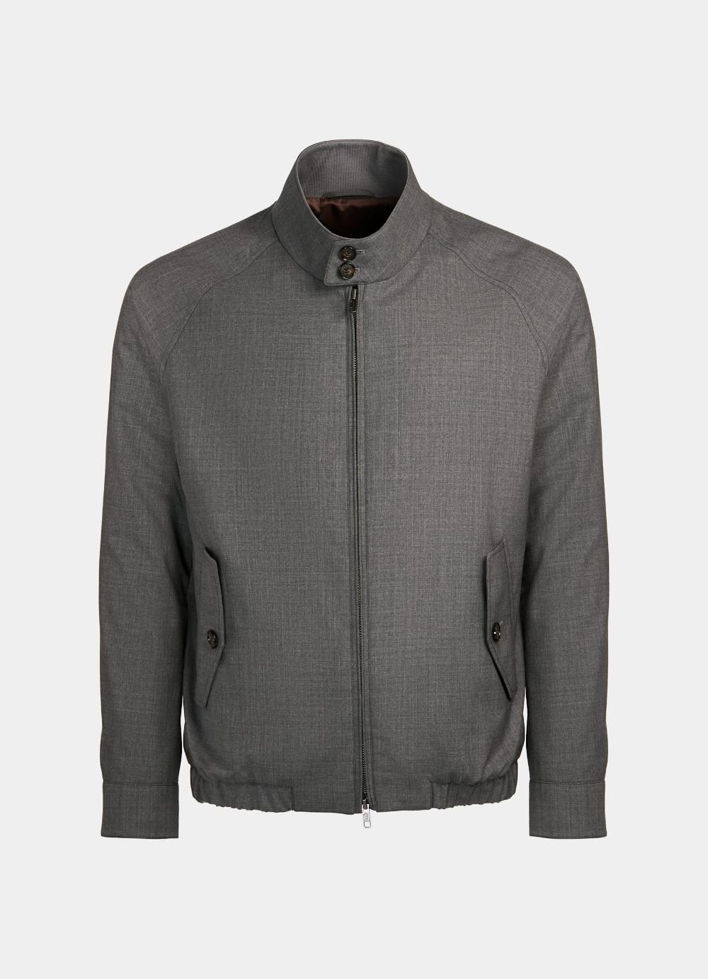 Grey Bomber Jacket Grey Bomber Jacket Bomber Jacket Men Sweater [ 1383 x 1000 Pixel ]