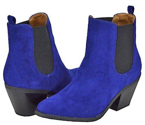 womens royal blue cowboy boots