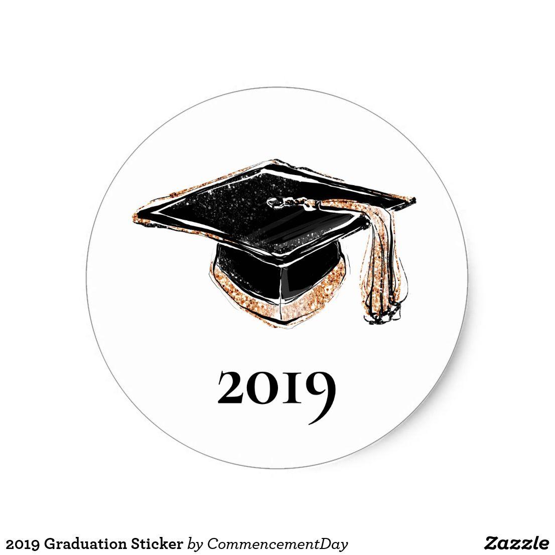 Photo of 2019 Graduation Sticker   Zazzle.com