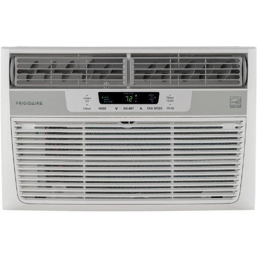 Frigidaire 8,000 BTU 115V Window-Mounted Mini-Compact Air Conditioner with Temperature Sensing Remote Control