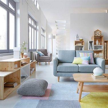 La tendance d co 2016 vue par emmanuelle rivassoux salons and foyers for Chambre scandinave pastel