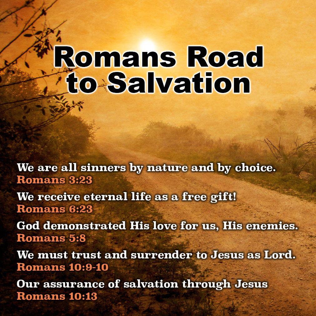 Roman Road to Salvation | Roman road to salvation ...