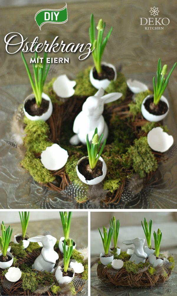 Photo of DIY: dekorere pene påskekranser med eggeskall – bloggen min
