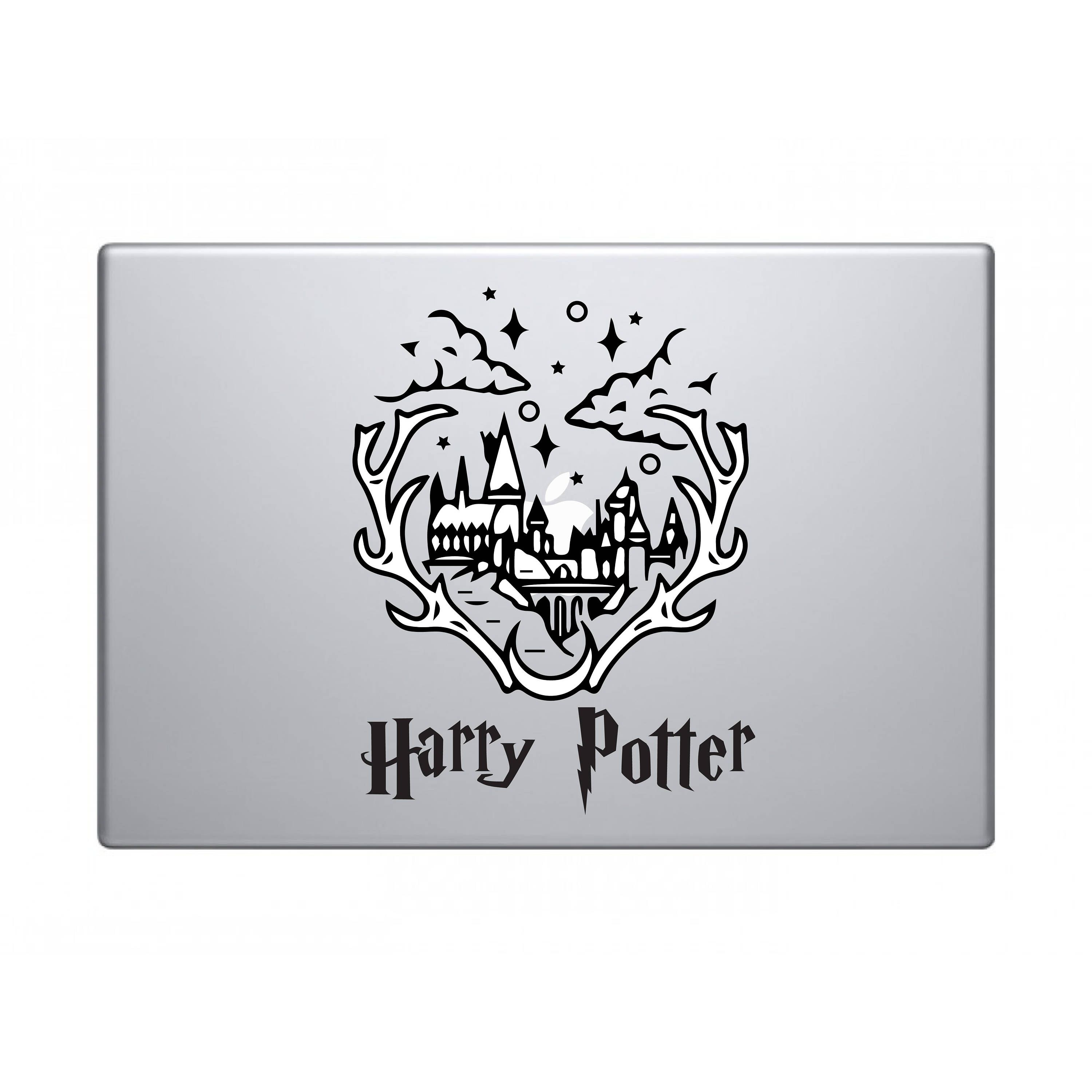 Excited To Share The Latest Addition To My Etsy Shop Harry Potter Deer Castle Hogwarts Decal Apple Macbook Imac S Macbook Decal Macbook Stickers Decals Ideas [ 3000 x 3000 Pixel ]