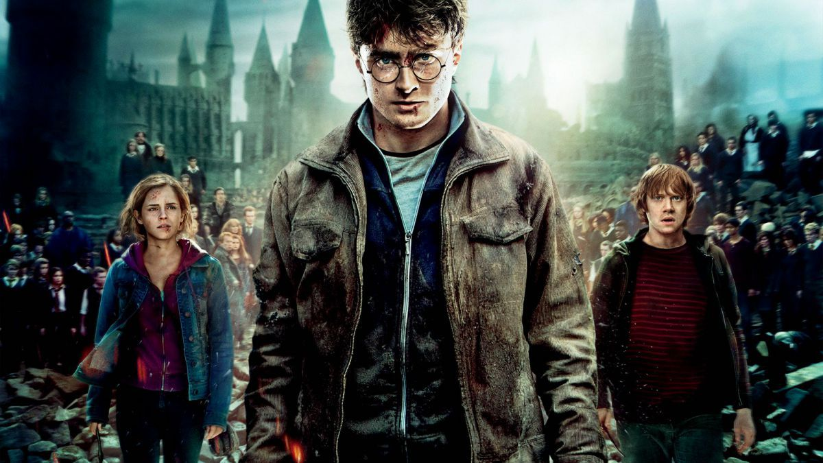 Harry Potter And The Deathly Hallows Warner Bros Harry Potter Movies Harry Potter Potter