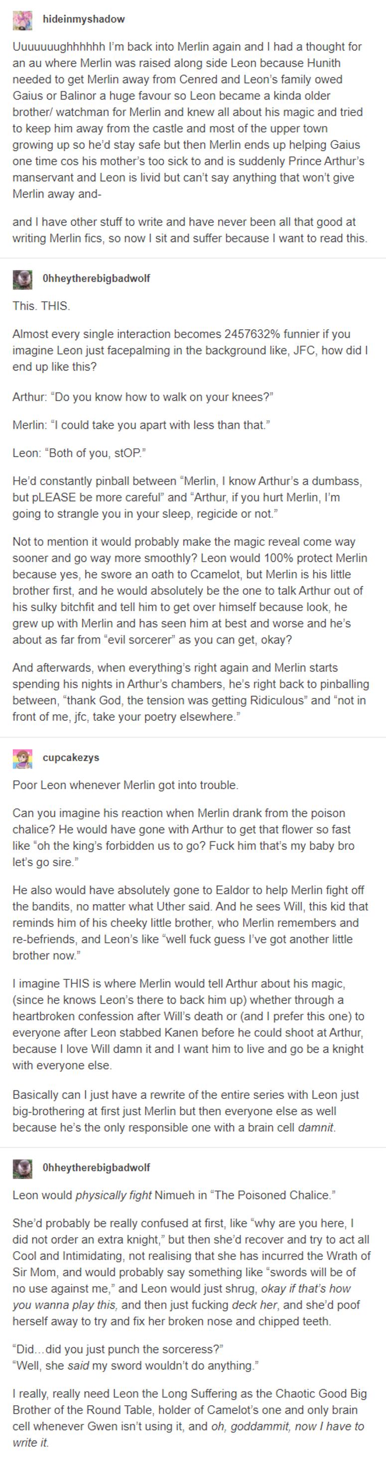 It S Real It S Called For Want Of A Nail It S On Ao3 In 2020 Merlin Show Merlin Merlin Fandom