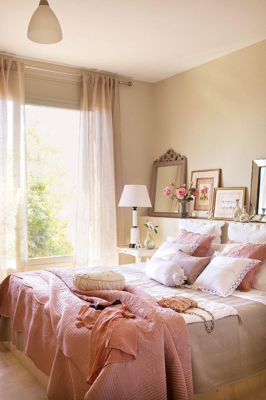 Un Dormitorio Vintage Acogedor Pinterest Dormitorio  ~ El Mueble Decoracion Dormitorios