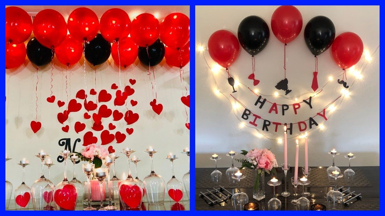Hi Everyone Welcome To My Channel Party Decorations Today I Am Sharing Husband Birthday Decorations Surprise Birthday Decorations Surprise Party Decorations