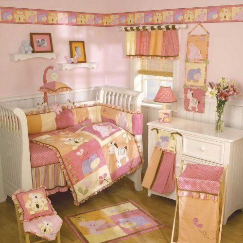 Cocalo Tropic Punch Baby Bedding Girl Nursery Crib Crib Bedding