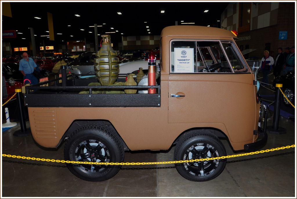 1957 Vw Shorty Pickup Truck Volkswagen Van Pickup Trucks Trucks