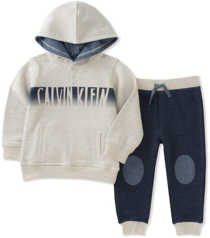 Calvin Klein boys 2-piece hoodie jogger set  babyboy 2bec75221f2