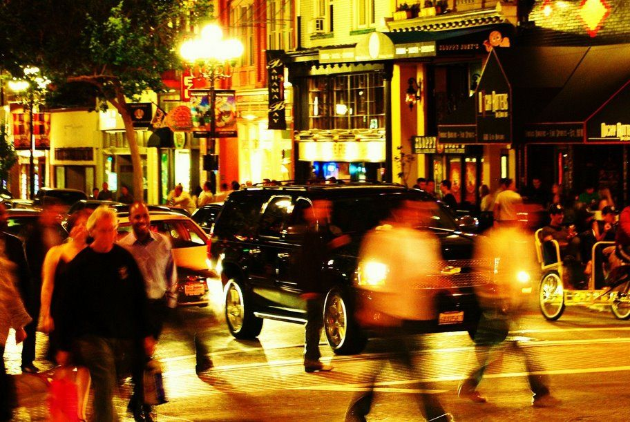 Gaslamp District Downtown San Diego...best Night Life, Wish I Can Afford