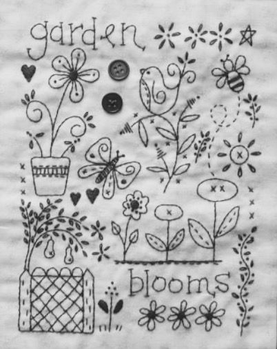 Embroidery Sampler Pattern Image Only Jwt Embroidery Patterns