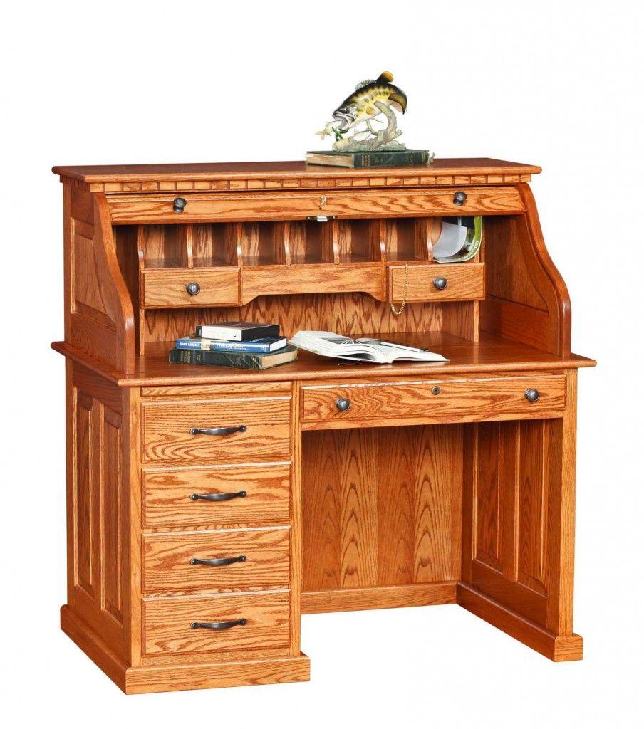 Modern Roll Top Desk Muebles Escritorios Oficinas