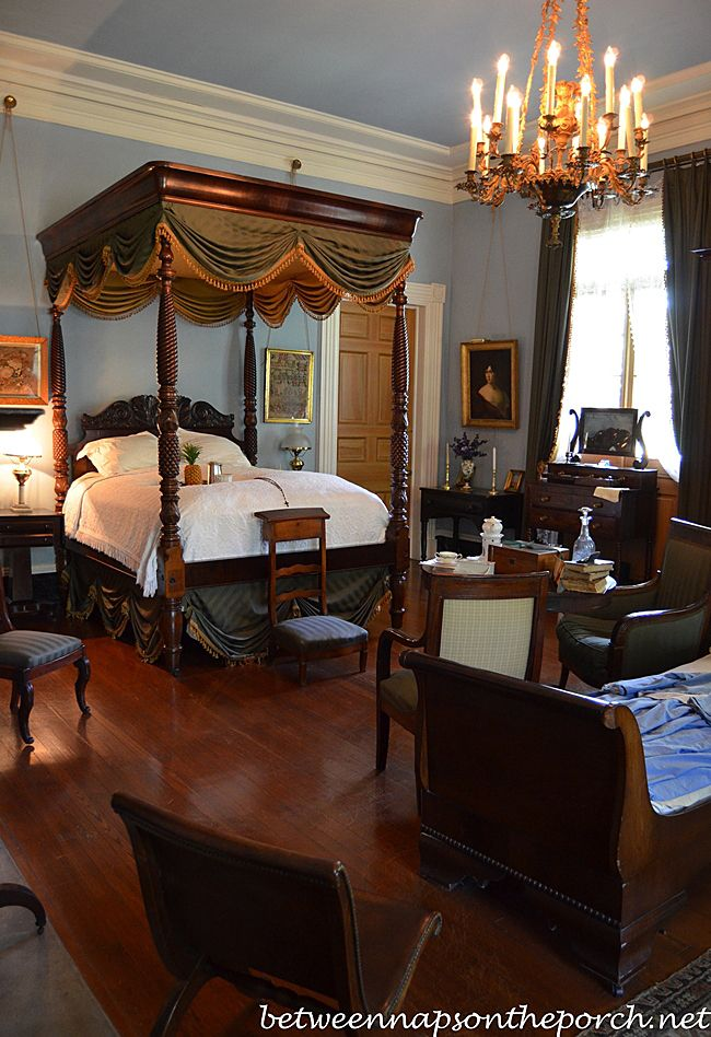 Tour Beautiful Oak Alley Plantation in Louisiana インテリア と 部屋