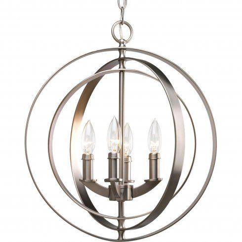 Dining room pendant chandelier.
