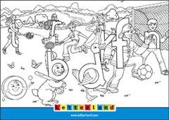 Colouring Sheet 3 Letterland