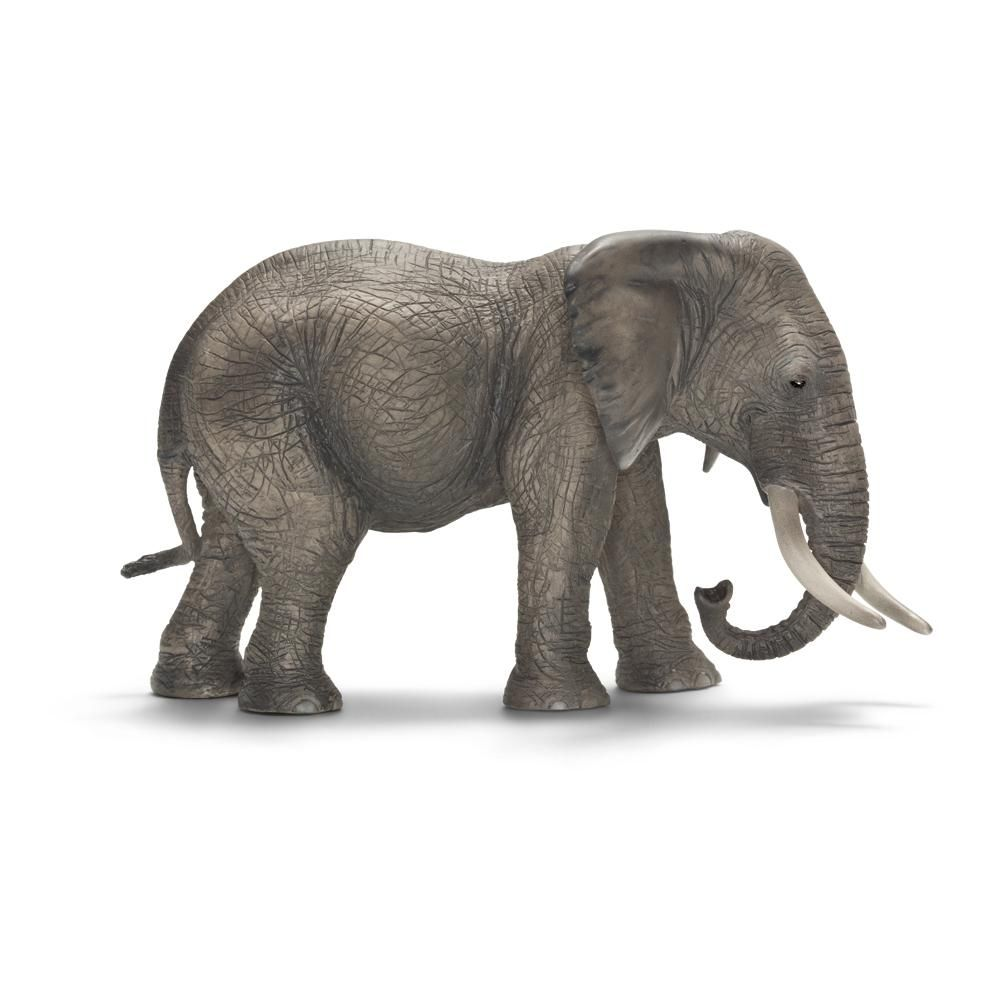 Schleich African Female Elephant Toy Figure - Africa