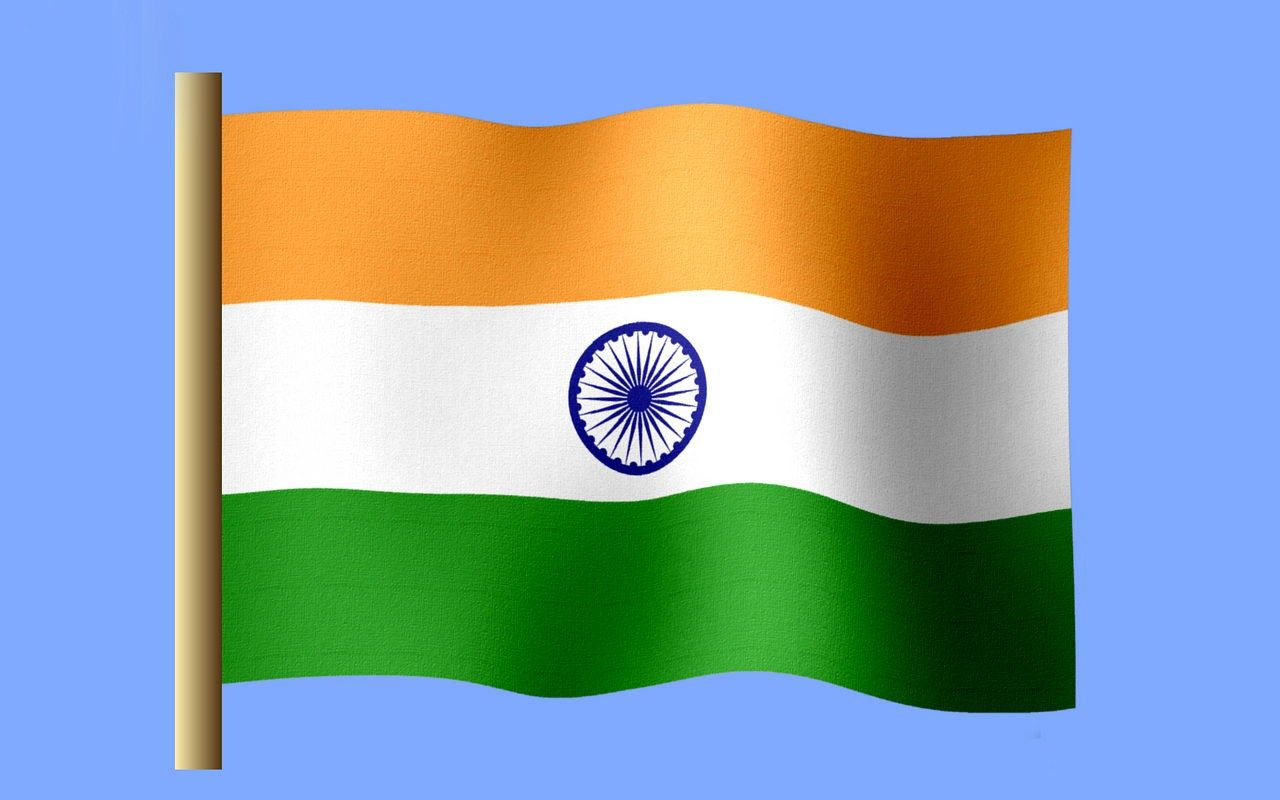 Indian National Flag National Flag Flag Vector Happy Republic Day 2017