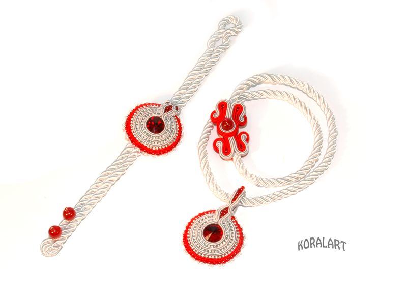 establecer soutache - Circles # 7 de KoralArt por