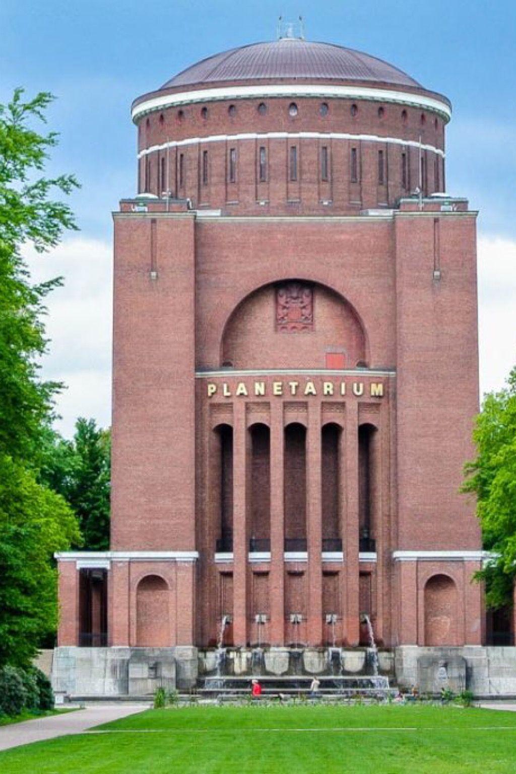 Planetarium Hamburg Wasserturm Hamburg Reiseziele
